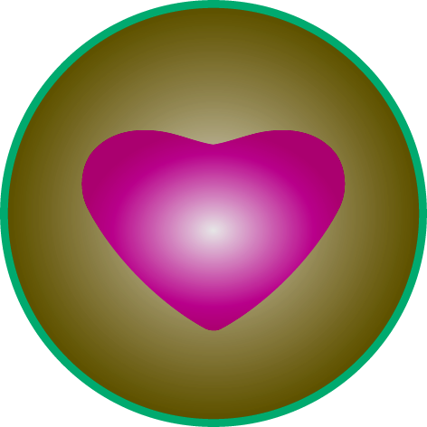 Heart symbol for the Counselling work