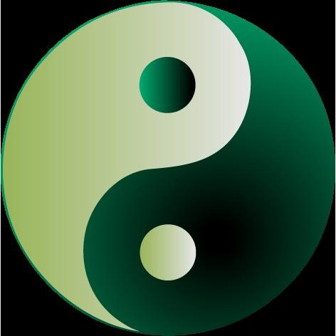 Yin Yang symbol for the Star Sapphire Energywork